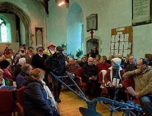 Students take part in Plough service