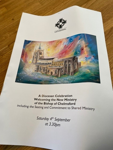 Welcoming the new Bishop of Chelmsford Brochure